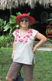 Leonide Martin at Palenque, Chiapas, Mexico in 2012.