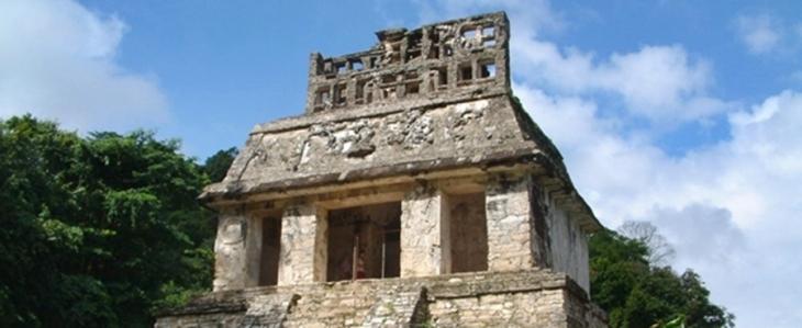 Temple of the Sun, Palenque (Chiapas, Mexico)