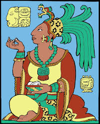 Mayan Queen of Classic Period