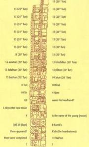 Coba Stela 1 with 20 levels of 13 above Creation Date