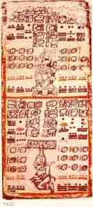 Mayan glyphs and codes in the Dresden Codex