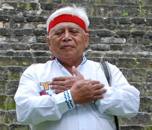 Itza Maya Elder, Shaman and Daykeeper Hunbatz Men