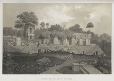Palace at Palenque Jean-Frederic Waldeck