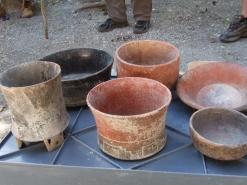Pottery found at El Mirador