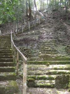 Stairs to La Danta platform
