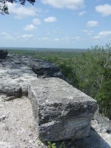La Danta summit view across jungle