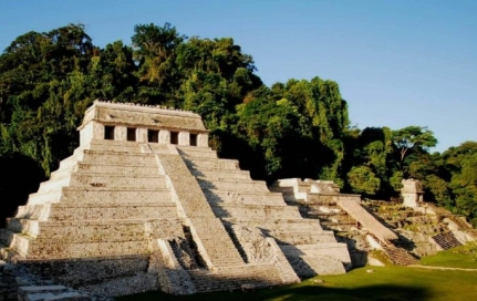 Photo of Mayan Three Temple Complex, Palenque, Mexico