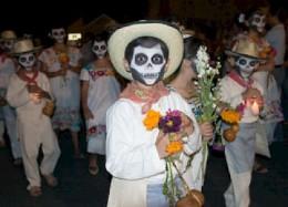 Boy in Merida parade