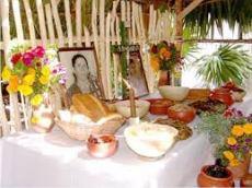 Mayan Hanal Pixan Altar