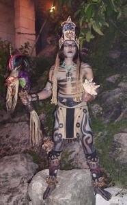 Mayan Shaman or Brujo