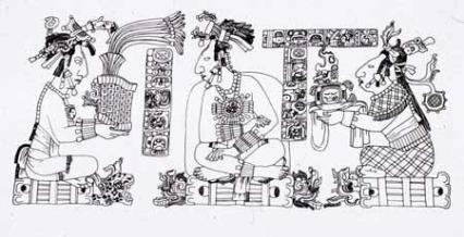 The Palace Tablet Pakal - Kan Joy Chitam - Tz'aakb'u Ahau