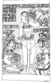 Dumbarton Oaks Tablet Tz'aakb'u Ahau - Kan Joy Chitam - Pakal