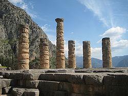 Columns of Delphi Temple