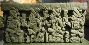 Carved Lineage of Rulers of Copan Bench/Altar