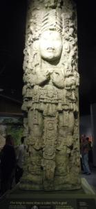 Stela from Copan, Honduras