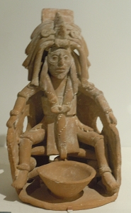 Figurine of Ruler in Bloodletting Position