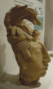 Bust of Janaab Pakal, Ruler of Palenque