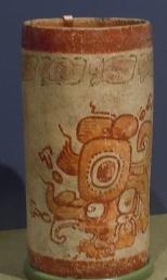 Polychrome Codex-style Vase