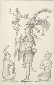 Bas relief sketch by Armendariz, 1787