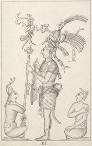 Bas relief sketch by Armendariz, 1787