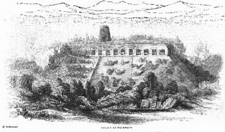 Catherwood Sketch of Palace
