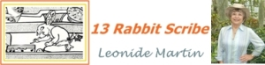 Rabbit Scribe-Leonide Martin logo
