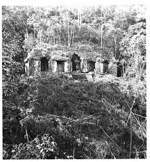 Temple of the Inscriptions in 1985 Maudslay photo from Meosweb