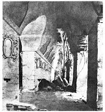 Caddy drawing of interior House A, Palace
