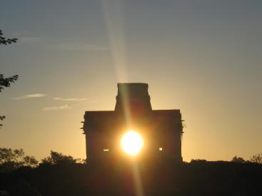 Equinox Sunrise at Dzibilchaltun