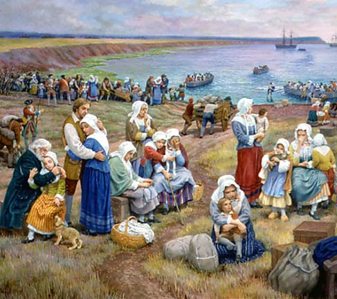 Deportation of Acadians