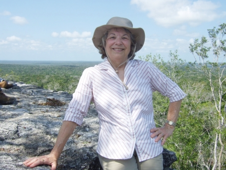 Photo of Leonide Martin at El Mirador, Guatemala