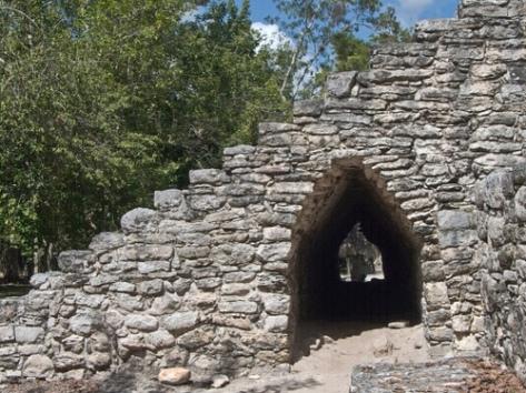 Photo of Maya Corbel Arch
