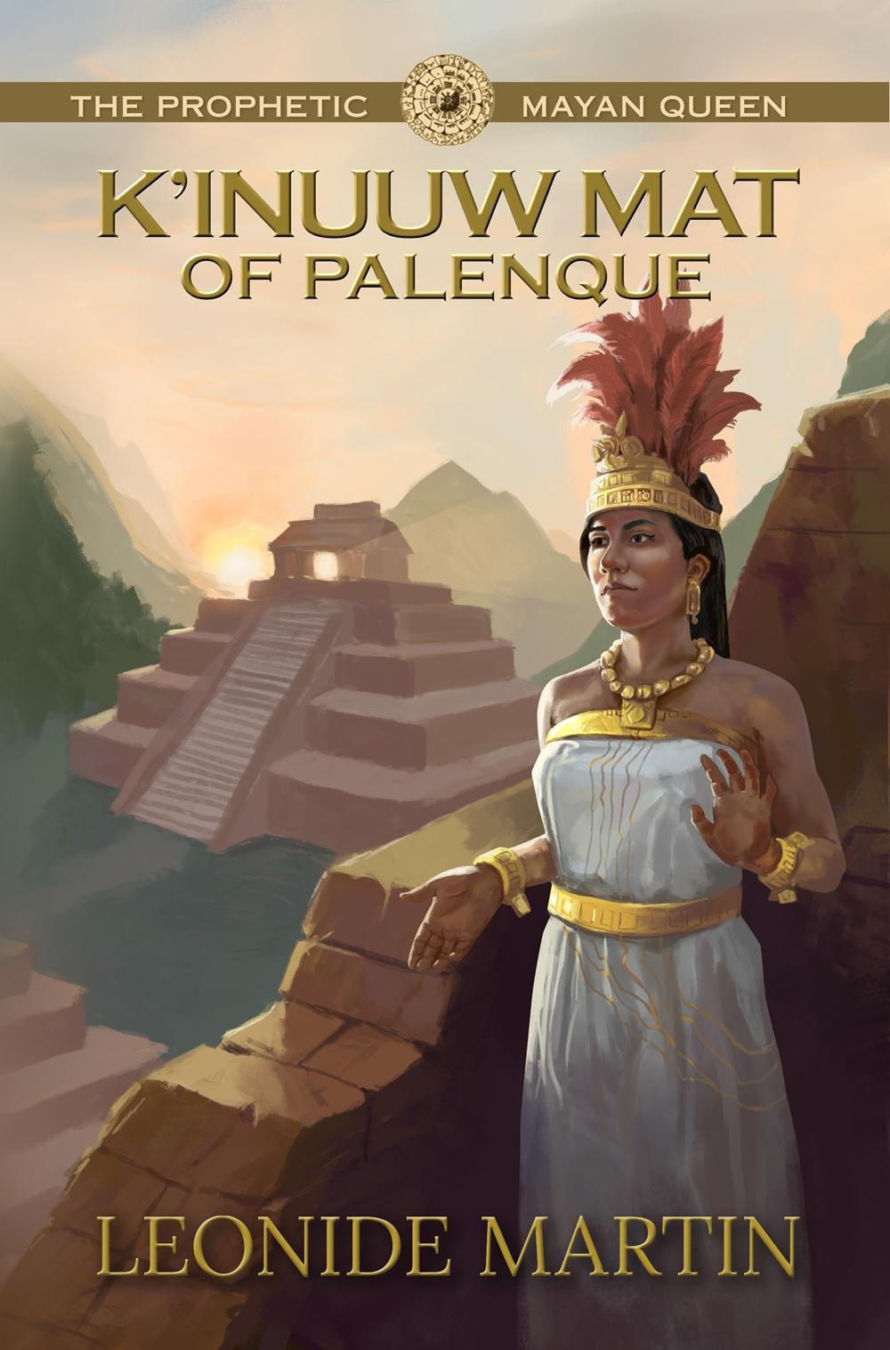 Book cover The Prophetic Mayan Queen