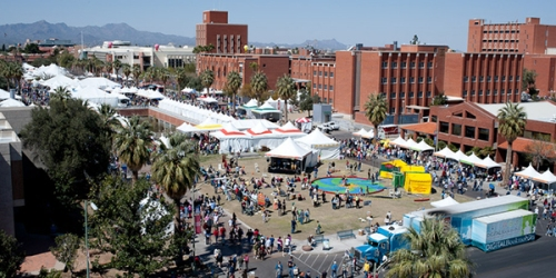 Photo of UA hosting Tucson Festival of Books
